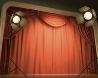 Old Stage Stock Photos