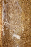 Old stained canvas. Closeup of old stained wet tarpaulin as a background Royalty Free Stock Photo