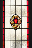 Old Stained glass window Royalty Free Stock Photos