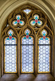 Old stained glass window Stock Photography