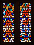 Old  stained-glass window Royalty Free Stock Image