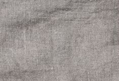 Old stained grey square creasy burlap texture. Old stained grey square creasy burlap texture Royalty Free Stock Photos