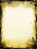 Old Stained Paper Stock Photo