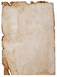 Old stained  paper Royalty Free Stock Images