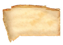 Old stained paper Royalty Free Stock Image