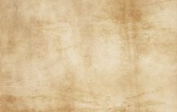 Old stained paper texture. Stock Image