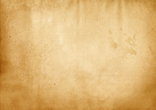 Old stained paper texture. Aging dirty paper background for the design royalty free stock photography