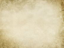 Old stained paper texture or background. Royalty Free Stock Images