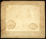 Old Stained Paper Texture Background Stock Photo