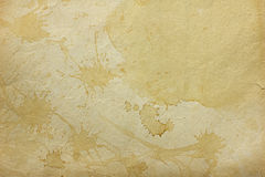 Old stained paper texture Royalty Free Stock Photos