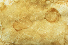 Old stained paper texture. Old stained beige paper texture Stock Images