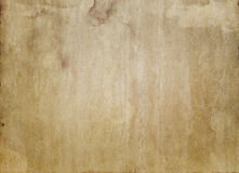 Old stained paper texture. Stock Photos