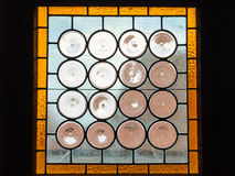 Old Stained Window Stock Photo