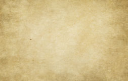 Old stained and yellowed paper texture. Old yellowed paper background for the design Royalty Free Stock Photos