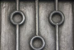 Old stainless steel plate With dirt stock photos