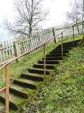 Old stair Stock Image
