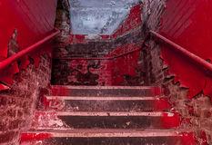 Old staircace. Stock Image
