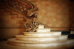 Old staircase. In Barcelona - Spain Royalty Free Stock Images