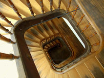 Old staircase Royalty Free Stock Photos
