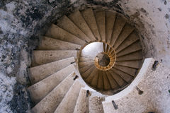 Old Staircase castle Stock Images