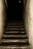 Old staircase. Royalty Free Stock Image