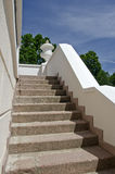 Old staircase in historical manor house Stock Photos