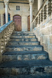 Old Staircase inside mosque Royalty Free Stock Image