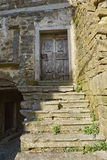 Old staircase. Oprtalj-Portole, situated on the hill is one of the most picturesque towns of the northern Istria Stock Photos