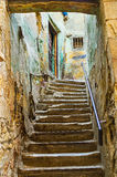 The old staircase Royalty Free Stock Images