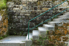 The old staircase Stock Photo