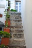 Old staircase and traditional architecture on Stock Photography