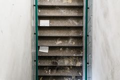 Old staircase Royalty Free Stock Images