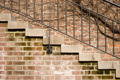 Old stairs Royalty Free Stock Photos