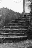 Old stairs Stock Images