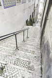 Old stairs in Lisbon Stock Image