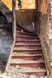 The old stairs Royalty Free Stock Photo