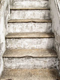 Old stairs in the temple Royalty Free Stock Photography