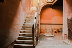 Old stairs in Venice Stock Photo