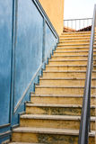 Old stairway of building. Royalty Free Stock Image