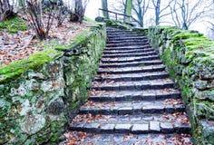 Old stairways Royalty Free Stock Photos