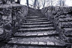 Old stairways Stock Photo