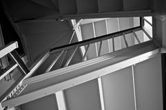 Old stairwell Stock Photography