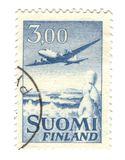 Old stamp from Finland Stock Images