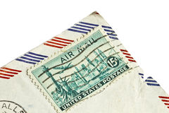 Old stamp of United States postage Stock Photo