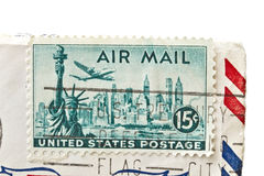 Old stamp of United States postage Royalty Free Stock Photos