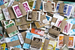 Old stamps Stock Images