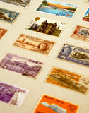 Old stamps Stock Photography