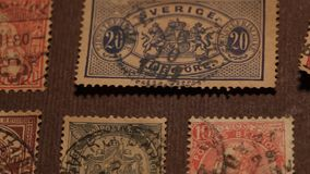 Old Stamps Royalty Free Stock Image