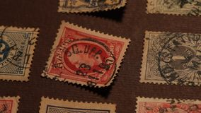 Old Stamps Royalty Free Stock Photos