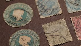 Old Stamps Royalty Free Stock Images